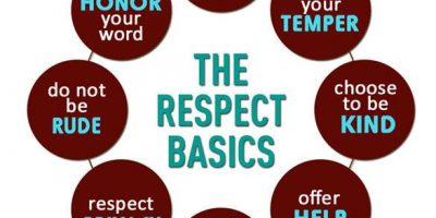 Respect basics